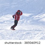 people snowboarding on the snow | Shutterstock . vector #385060912