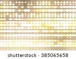 image of defocused gold stadium ... | Shutterstock . vector #385065658