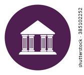 governmental house  university  ... | Shutterstock .eps vector #385102252