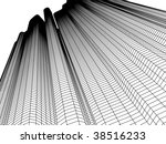 architecture in two colors | Shutterstock .eps vector #38516233