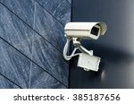 security camera private... | Shutterstock . vector #385187656