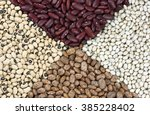 Постер, плакат: Dried beans clockwise from