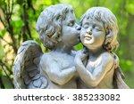 Little Couple Angel Sculpture...