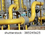 oil pipeline   | Shutterstock . vector #385245625