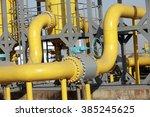 oil pipeline   | Shutterstock . vector #385245625