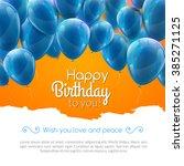 Vector Happy Birthday Card Wit...