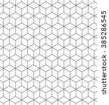 seamless geometric pattern.... | Shutterstock . vector #385286545