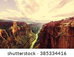 picturesque landscapes of the... | Shutterstock . vector #385334416