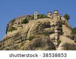 meteora   greece | Shutterstock . vector #38538853