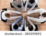 business  people  cooperation... | Shutterstock . vector #385395892