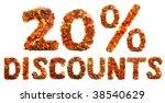 autumn discount | Shutterstock . vector #38540629