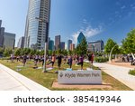 may 2  2015 dallas  tx usa ... | Shutterstock . vector #385419346