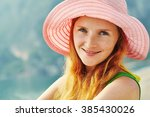 portrait of a beautiful young... | Shutterstock . vector #385430026