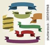 banner infographic design... | Shutterstock . vector #385454968