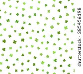 Abstract Green Seamless Patter...
