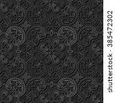 Seamless 3d Elegant Dark Paper...