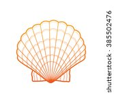Seashell. Sea Shell In Vector....