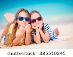 Adorable Little Girls During...