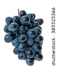 Grapes Isolated On A White...