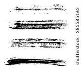 grunge brush stroke . vector... | Shutterstock .eps vector #385585162
