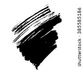 grunge brush stroke . vector... | Shutterstock .eps vector #385585186
