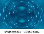 abstract fractal blue... | Shutterstock . vector #385585882