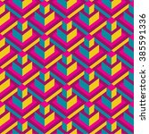 modern geometric seamless...   Shutterstock .eps vector #385591336