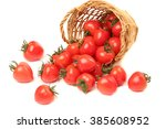 tomatoes isolated | Shutterstock . vector #385608952