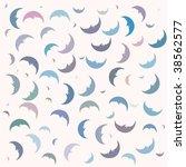 moon vector background | Shutterstock .eps vector #38562577