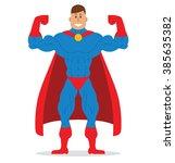 vector cartoon image of a... | Shutterstock .eps vector #385635382