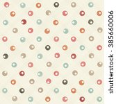 seamless pattern with colorful... | Shutterstock .eps vector #385660006
