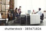 business team professional...   Shutterstock . vector #385671826
