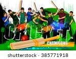 easy to edit vector... | Shutterstock .eps vector #385771918