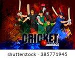easy to edit vector... | Shutterstock .eps vector #385771945