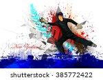 easy to edit vector... | Shutterstock .eps vector #385772422