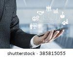human resources consept  | Shutterstock . vector #385815055