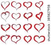 vector concept conceptual... | Shutterstock .eps vector #385827958