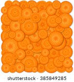 background carrot. vector... | Shutterstock .eps vector #385849285