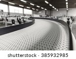 conveyer belt close up | Shutterstock . vector #385932985
