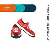 fitness icon design    Shutterstock .eps vector #385960672