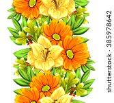 abstract elegance seamless... | Shutterstock . vector #385978642