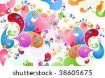 summer color burst | Shutterstock .eps vector #38605675