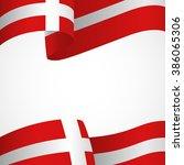 decoration of denmark insignia... | Shutterstock .eps vector #386065306