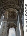 paris france 20 april 2014 the... | Shutterstock . vector #386086942