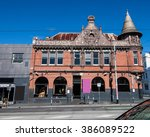 the old hotel in melbourne | Shutterstock . vector #386089522