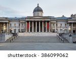 the national gallery building... | Shutterstock . vector #386099062