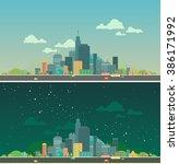 modern vector illustration of... | Shutterstock .eps vector #386171992