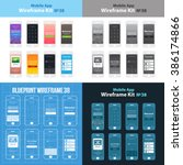 mobile wireframe app ui kit 38. ...