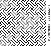 abstract geometric pattern... | Shutterstock .eps vector #386182246