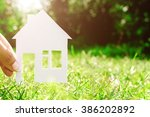 building  buying or selling... | Shutterstock . vector #386202892